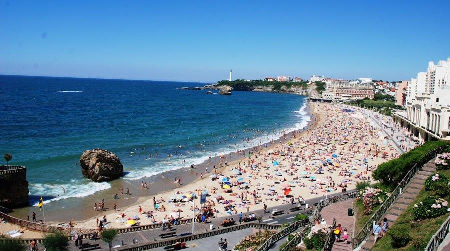 La Grande Plage | O que fazer em Biarritz