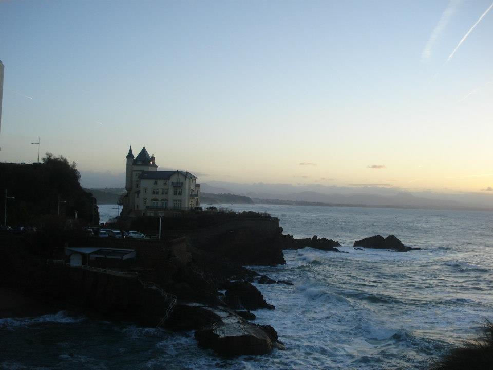 Pôr do sol no Rochedo da Virgem | O que fazer em Biarritz