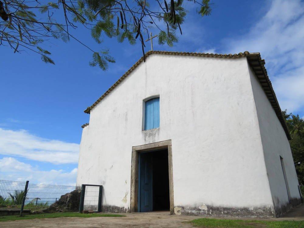 Igrejinha no Centro Histórico de Porto Seguro