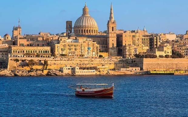 Valeta - Arquipélago de Malta - Foto: http://www.skibbereeneagle.ie/
