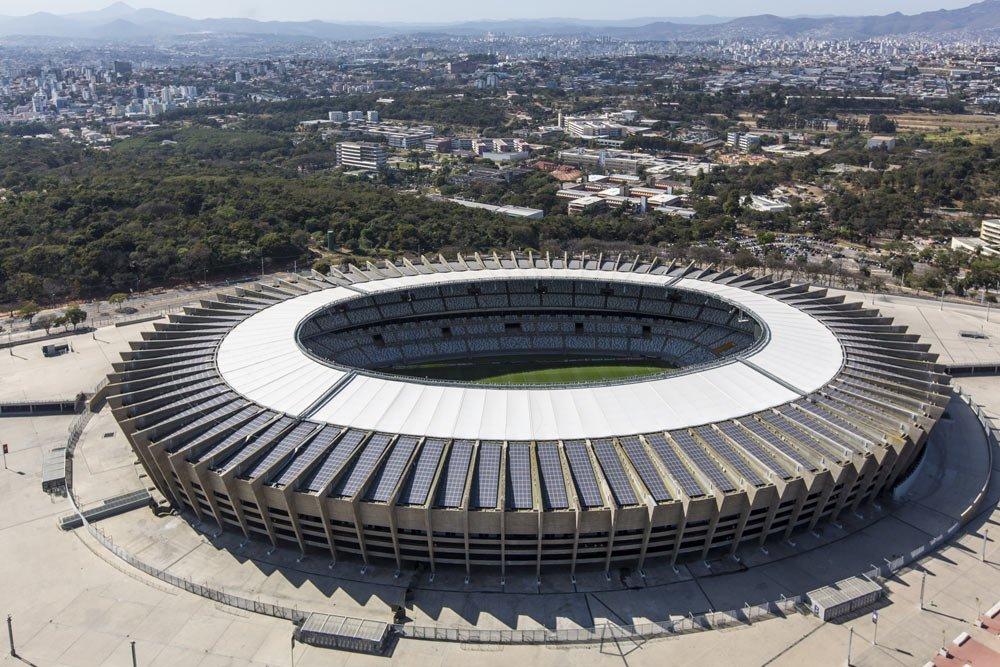 Estádio Mineirão   Visita ao Mineirão