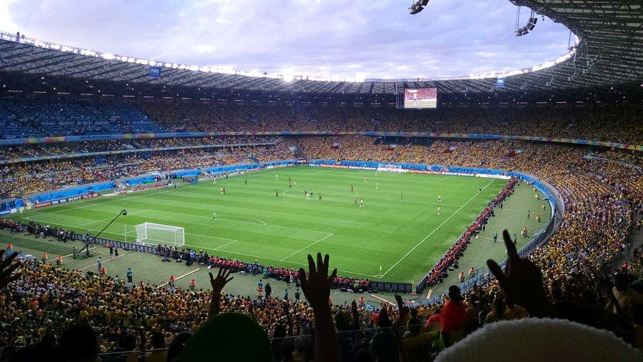 Brasil x Alemanha pela Copa do Mundo de 2014