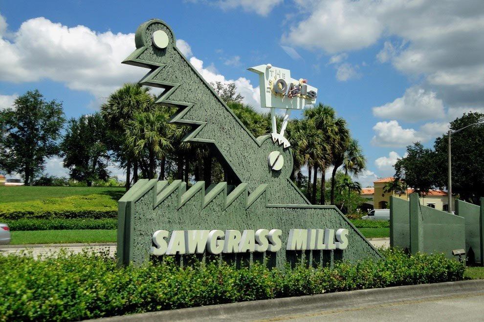 Sawgrass Mills - Outlet dos EUA - Foto: www.10best.com