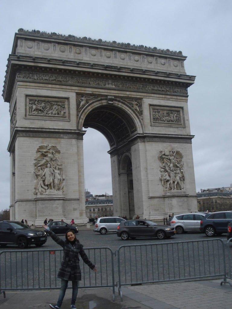 Arco do Triunfo   Conexão em Paris