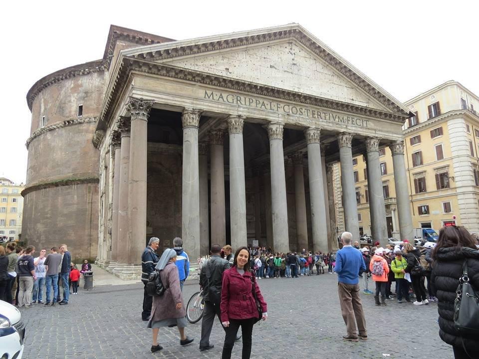 Pantheon   Conexão em Roma