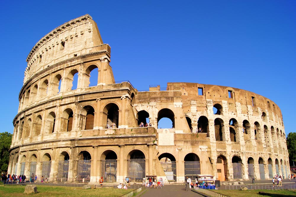 Coliseu   Conexão em Roma