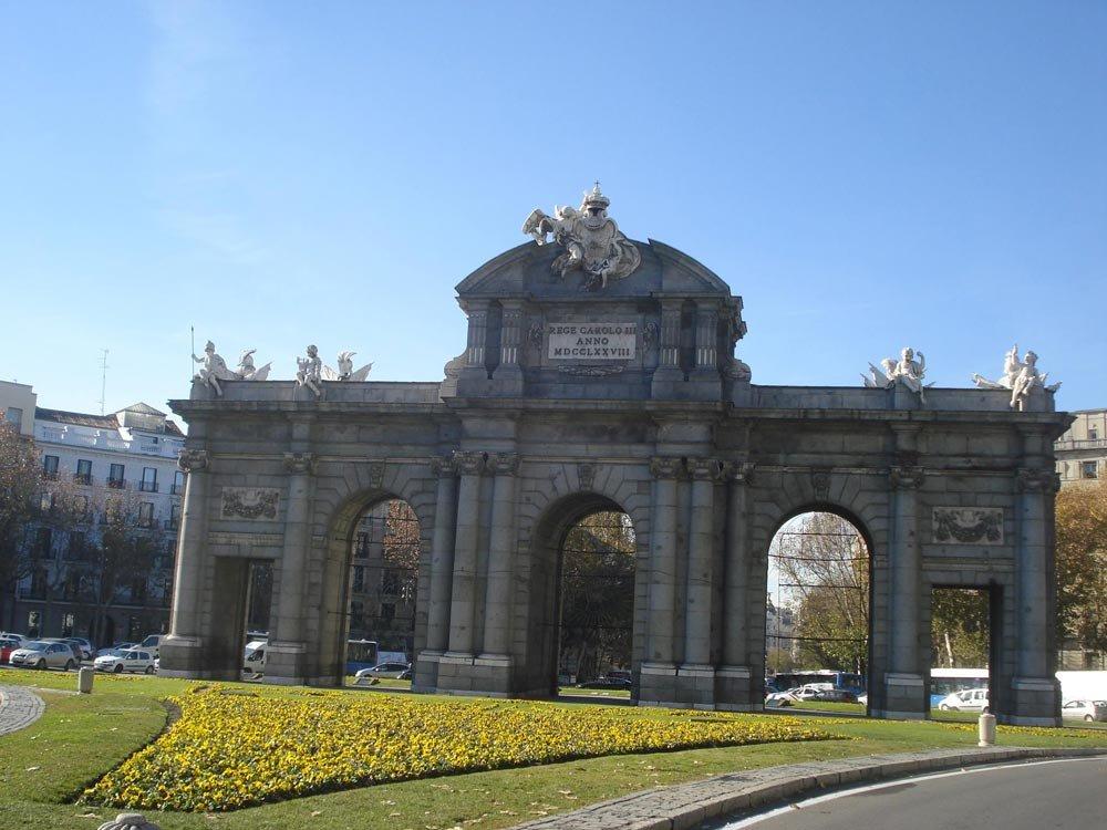 Puerta de Alcalá   Conexão em Madrid