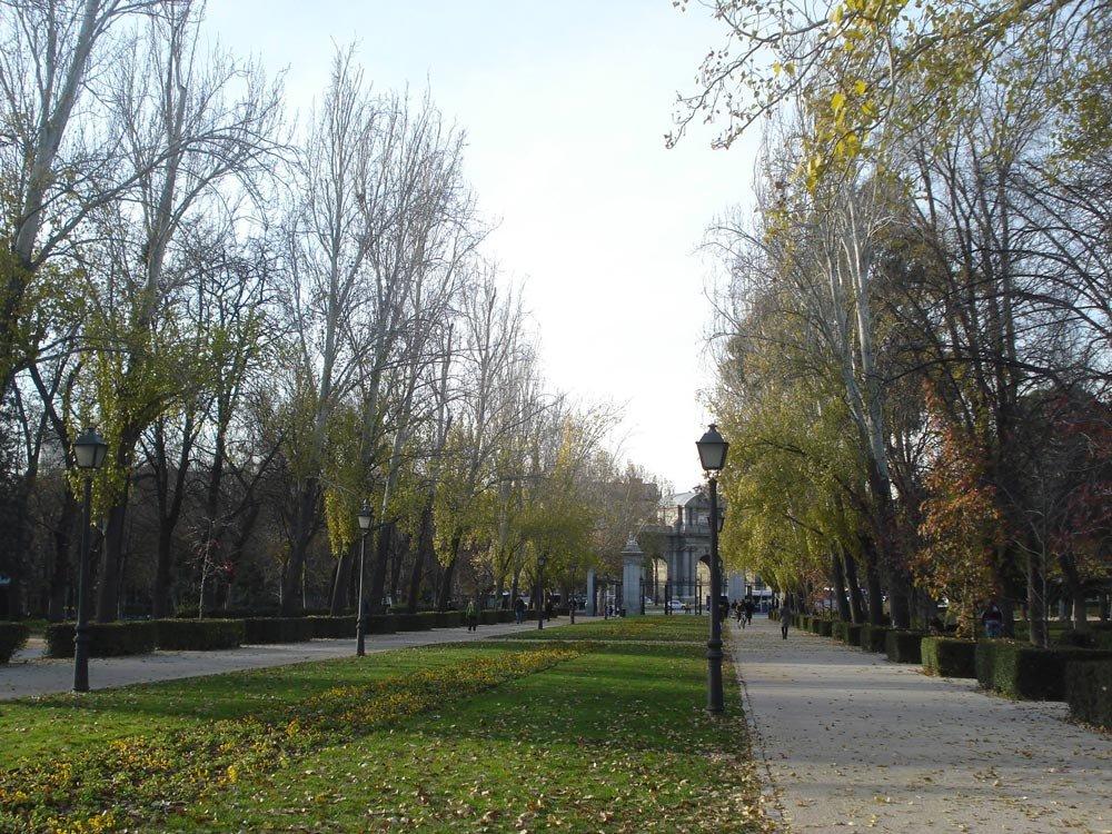 Parque El Retiro   Conexão em Madrid