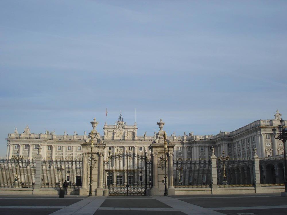 Palácio Real   Conexão em Madrid