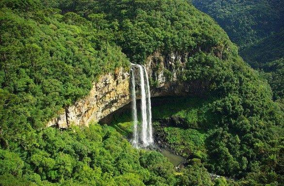 Parque Estadual do Caracol - Foto: www.gramadocanela.com.br