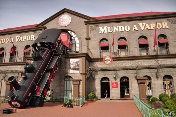 Mundo a vapor - Foto: www.hoteisepousadasem.com.br
