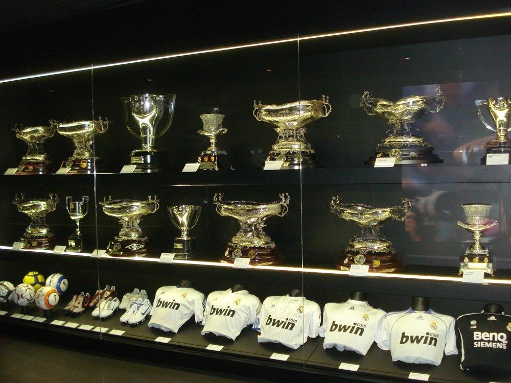 Sala de Troféus do Bernabéu - Foto: Lid Costa