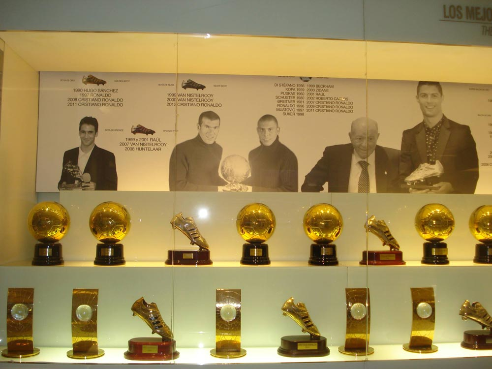 Galeria com os ganhadores da Bola de Ouro - Foto: Lid Costa