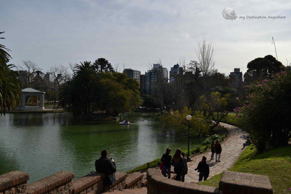 Lago Parque Rodó - Foto: http://mydestinationanywhere.com/