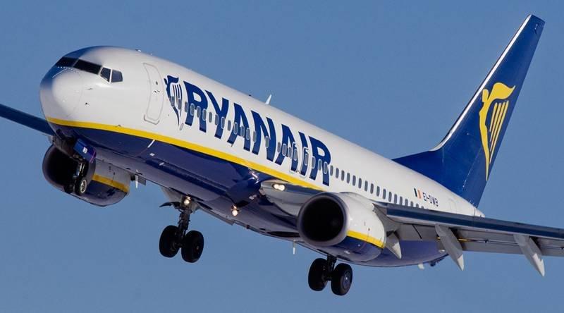 Avião da Ryanair (Companhia Low Cost)