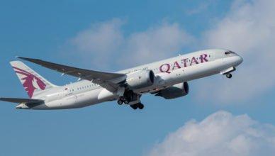 Boing Qatar Airways