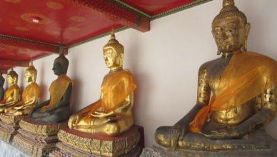 Imagens de Buda - Wat Pho.