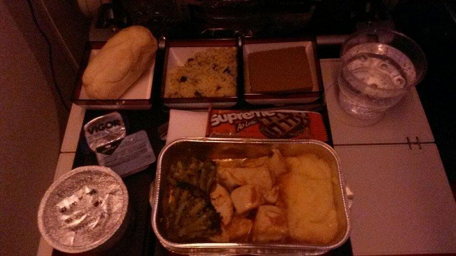 Almoço da Qatar Airways