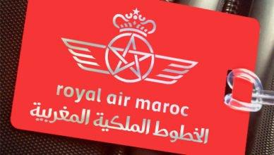 Símbolo da Royal Air Maroc. Foto: http://crewtags.aero