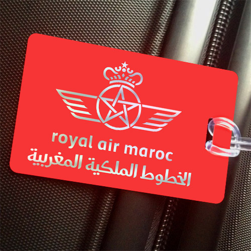 Símbolo da Royal Air Maroc. Foto: http://crewtags.aero