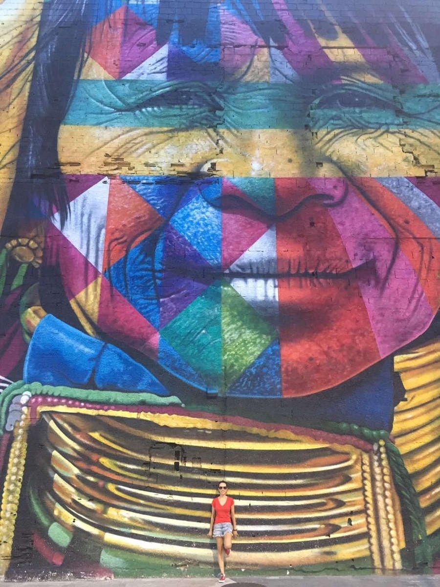 """Mural """"Todos somos um"""" no Boulevard Olímpico - O que fazer no Rio de Janeiro"""