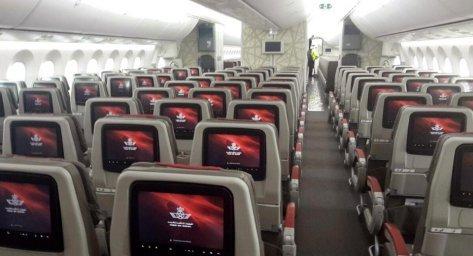 Classe econômica - Como é voar pela Royal Air Maroc?