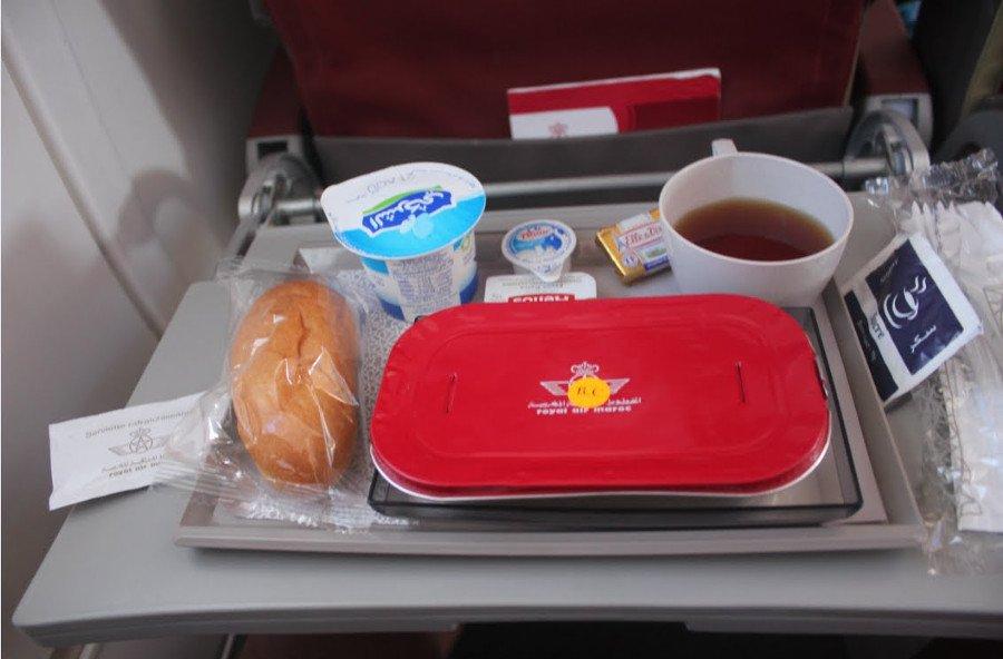 Serviço de bordo - Como é voar pela Royal Air Maroc?