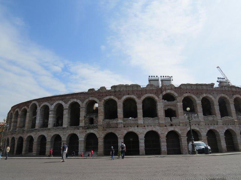 O que fazer em Verona - Visita à Arena