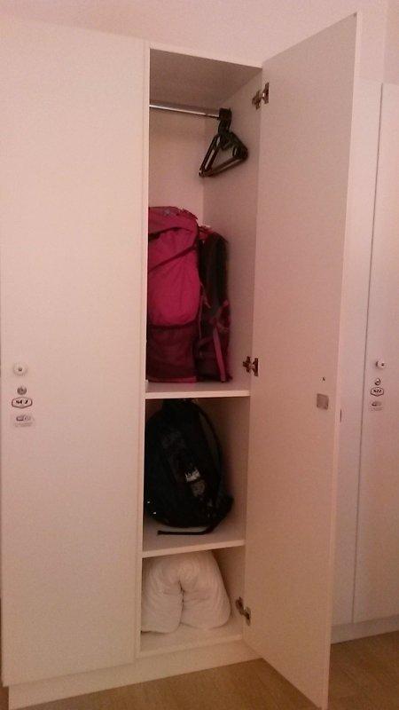 Locker do Hostel