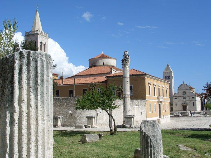 O que fazer em Zadar: Passear pelo Fórum Romano