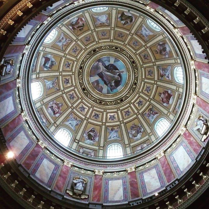 Interior da Basílica de Sao Estevão | O que fazer em Budapeste em 2 dias