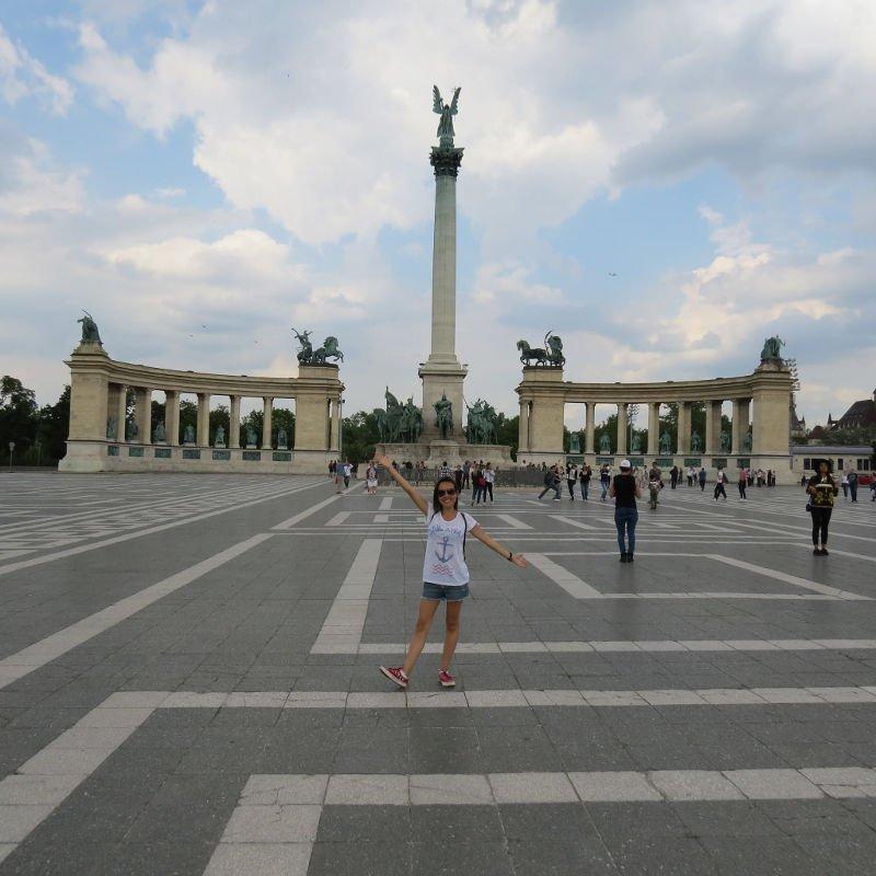 Praca dos Herois | O que fazer em Budapeste em 2 dias