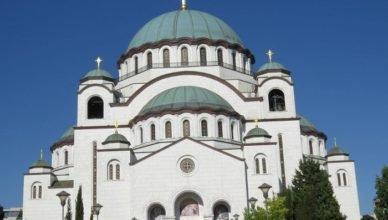 St. Sava Temple.