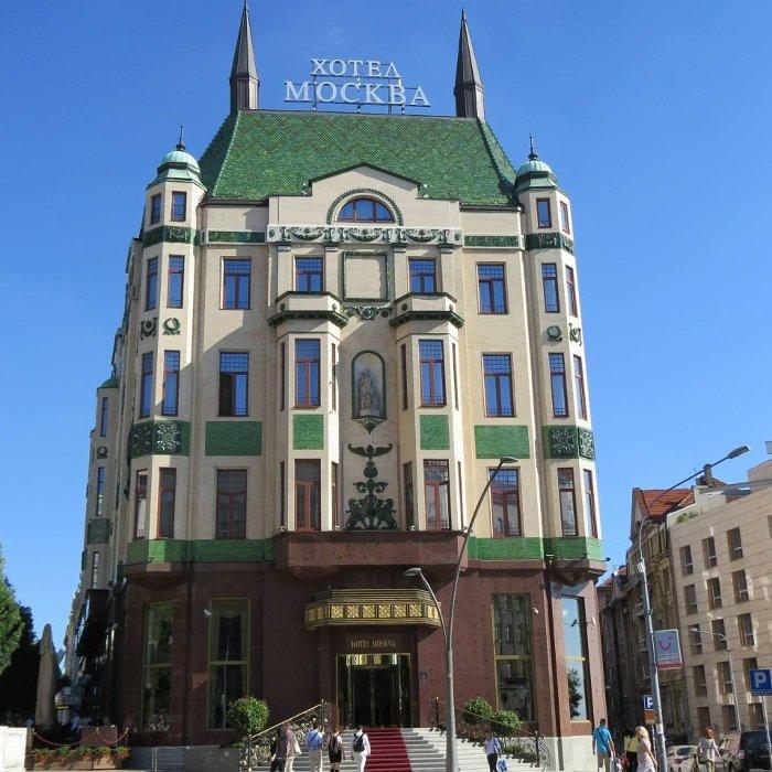 Hotel Moscow - Belo edifício perto da City Assembly   O que fazer em Belgrado
