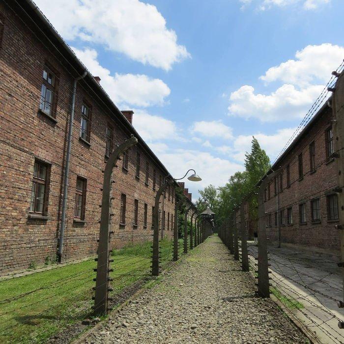 Cerca elétrica no Campo Auschwitz I | Dicas para visitar Auschwitz