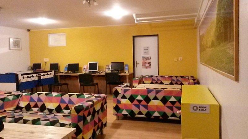 Sala de convivência | Patio Hostel em Bratislava