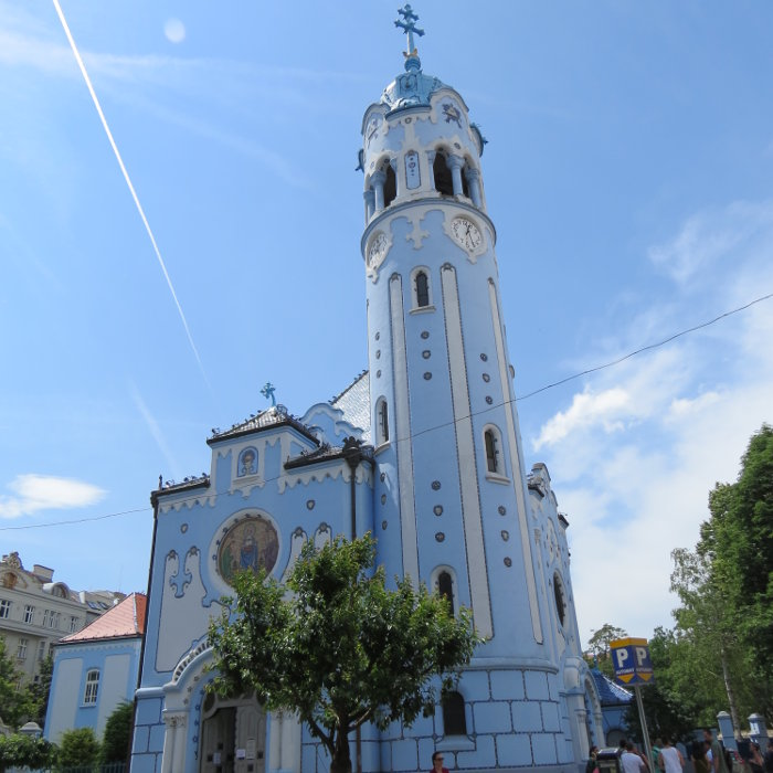 Igreja Azul | O que fazer em Bratislava