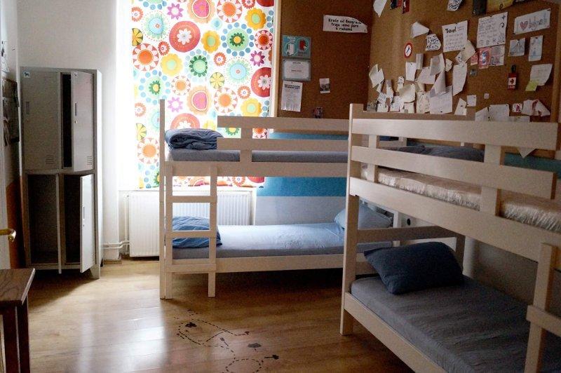 Quarto | Trip and Sleep Hostel em Belgrado