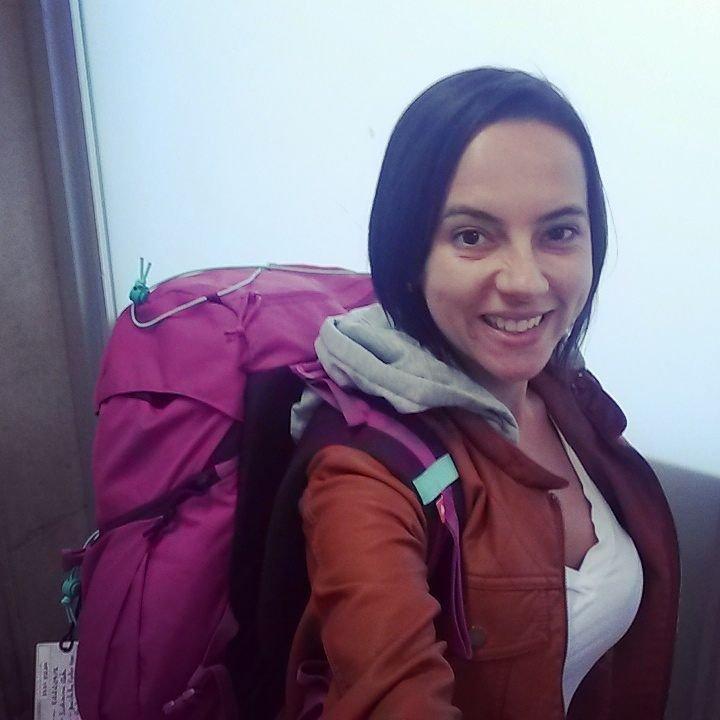 Pronta para viajar sozinha