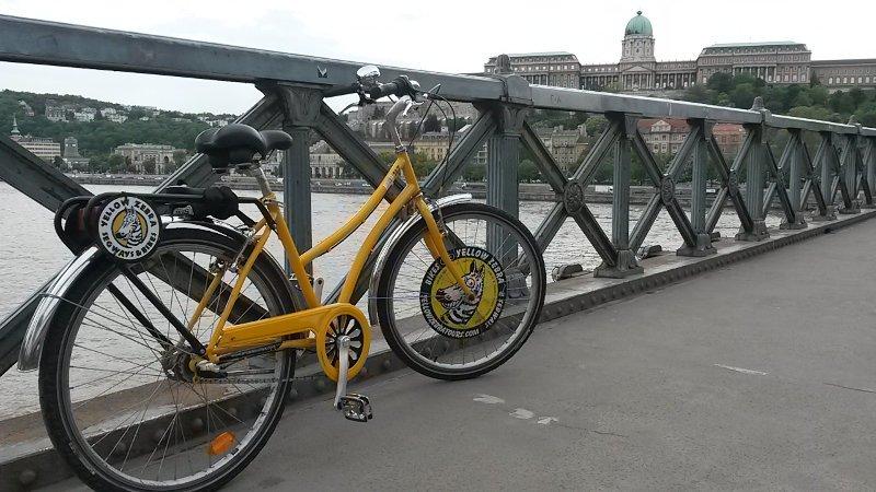 Bike do Yellow Zebra | Bike Tour em Budapeste
