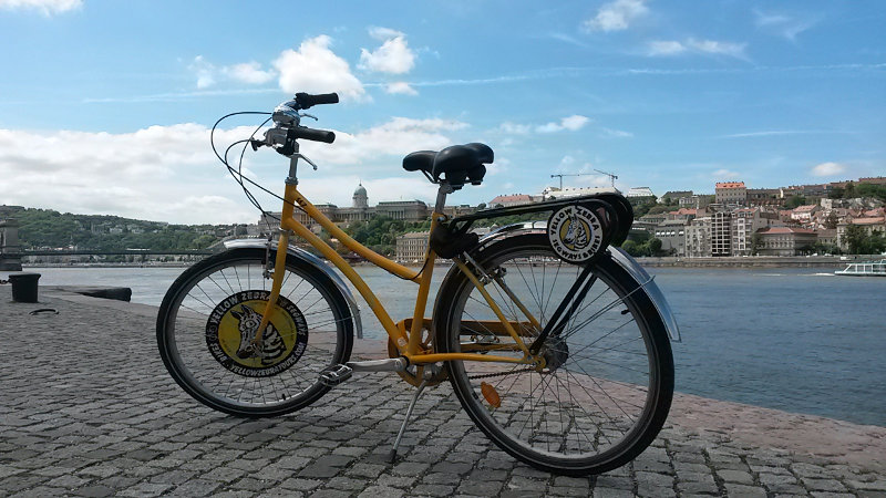 Bike do Yellow Zebra | Bike Tour em Budapeste