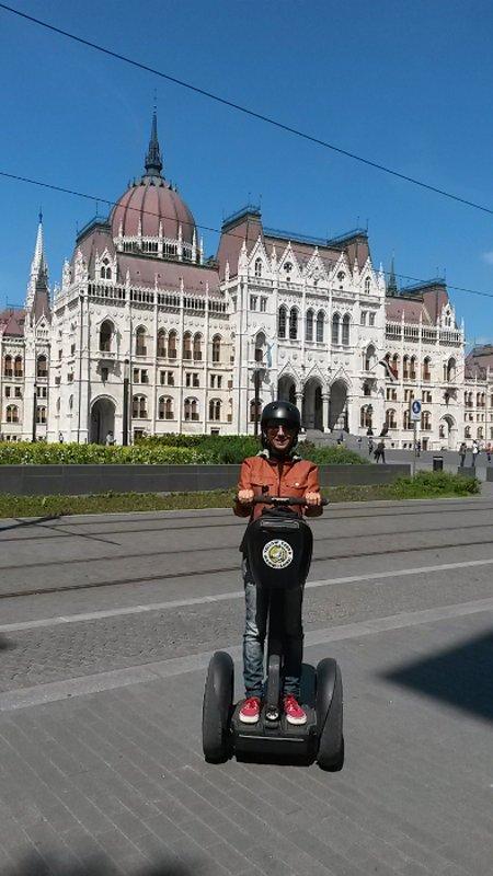Andando de Segway   Bike Tour em Budapeste