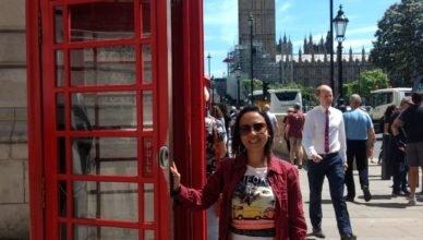 Famosa cabine de Telefone en Londres