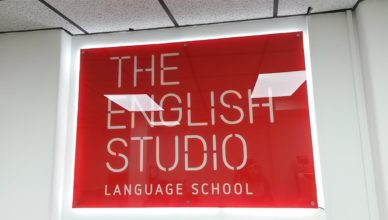 Recepção da The English Studio