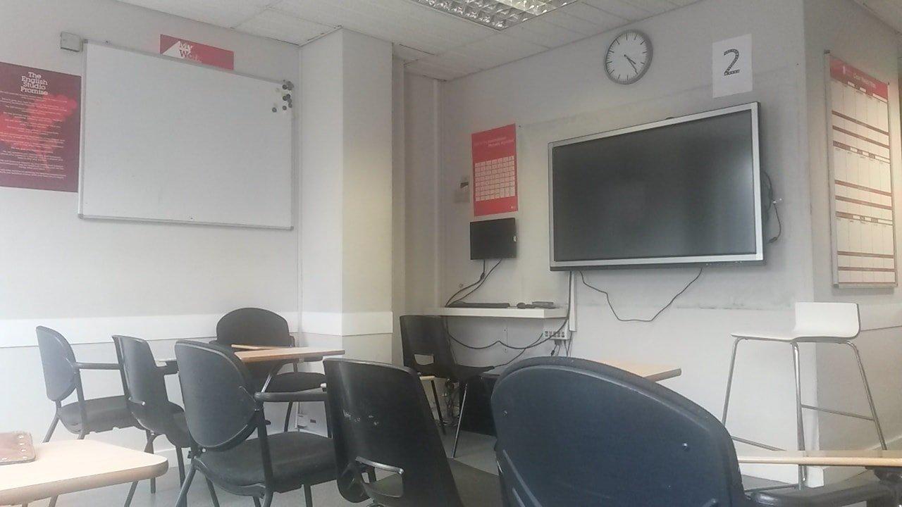 Sala de aula  The English Studio Londres