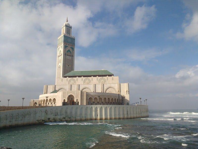 O que fazer em Casablanca? Visitar uma mesquita :)
