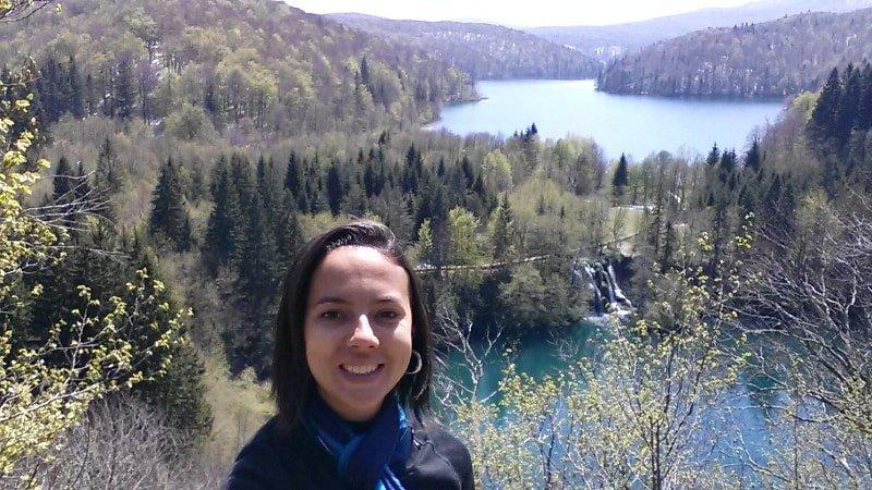 Vista do alto da trilha | Plitvice Lakes Dicas