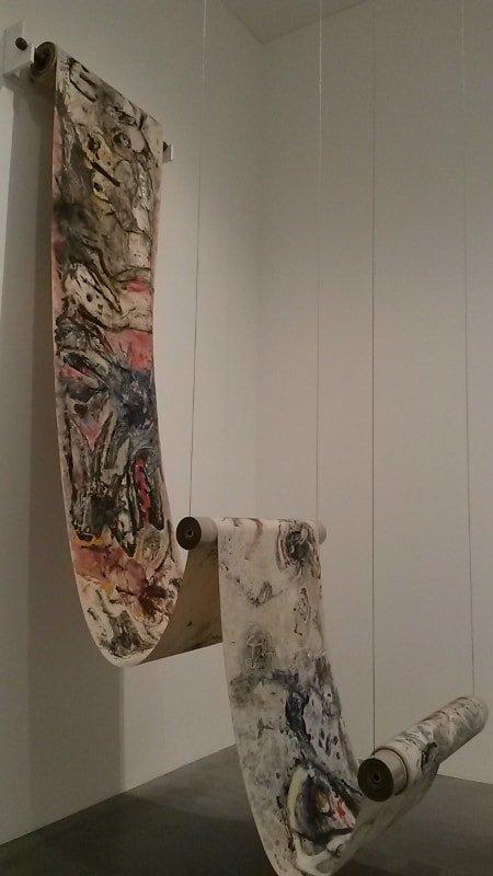 Obras expostas nas salas gratuitas do Museu