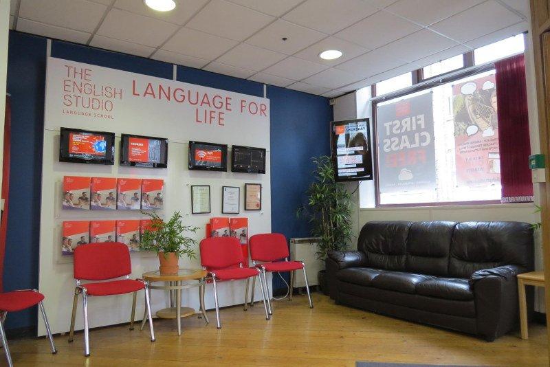 Recepção da The English Studio em Dublin