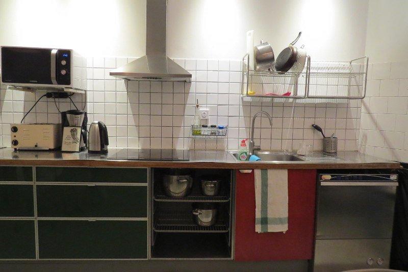 Cozinha de um Hostel | Viajar gastando pouco